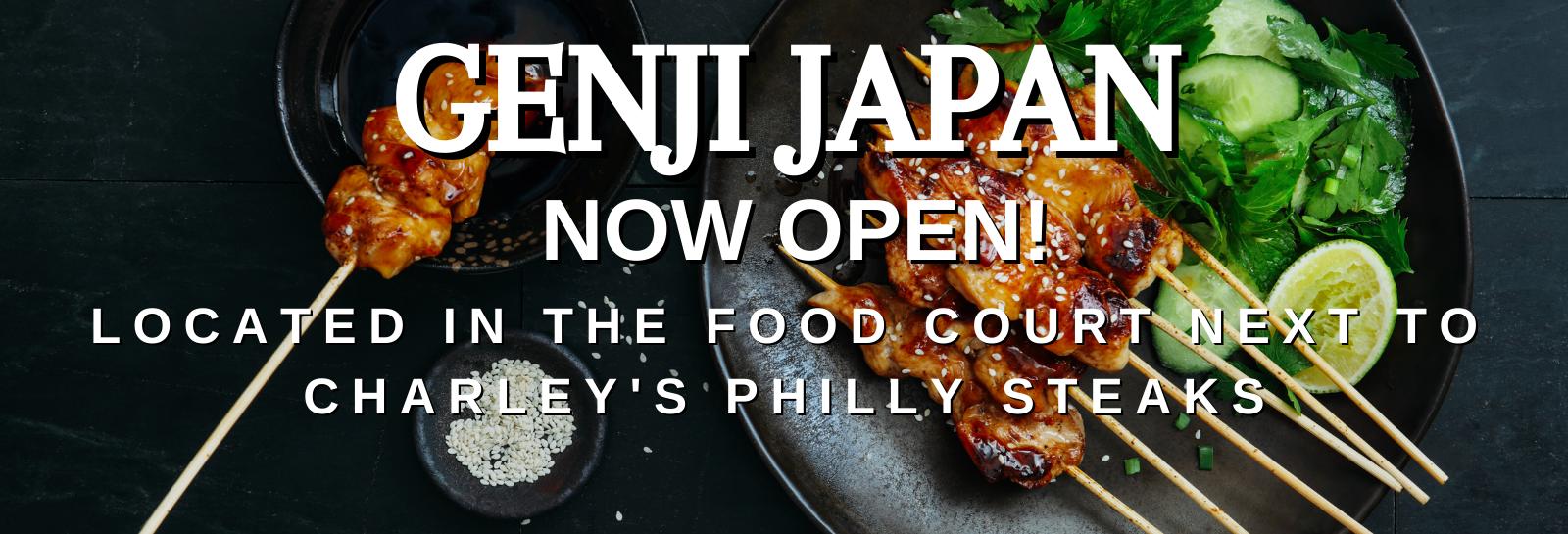 Genji Now Open