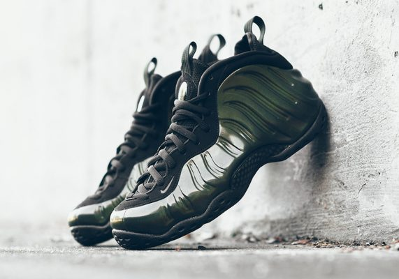 Nike Shoes Brand New Air Foamposite One Cracked Lava ...