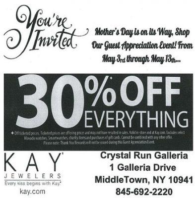 0d9452328 Kay Jeweler's Guest appreciation event - Galleria at Crystal Run