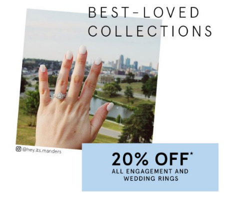 20 Off All Engagement And Wedding Rings Galleria At Crystal Run