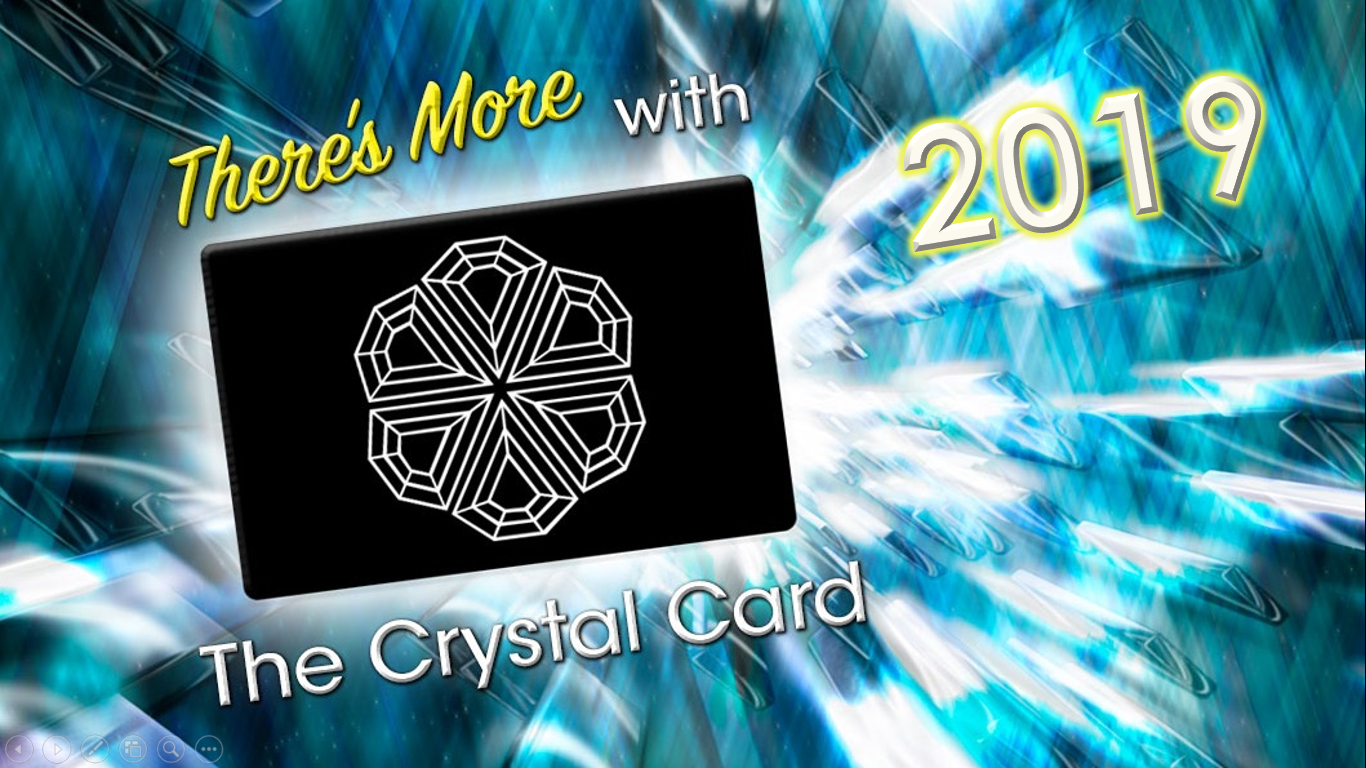 Crystal Card 2019