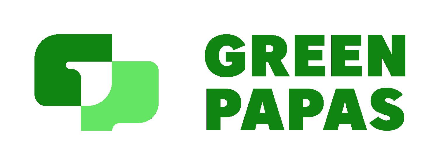 GreenPapas logotype horizont