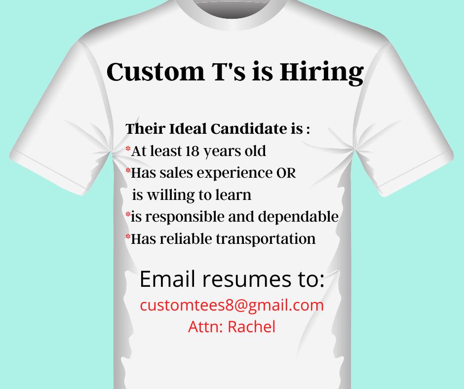 Turquoise Icons Job Vacancy Announcement