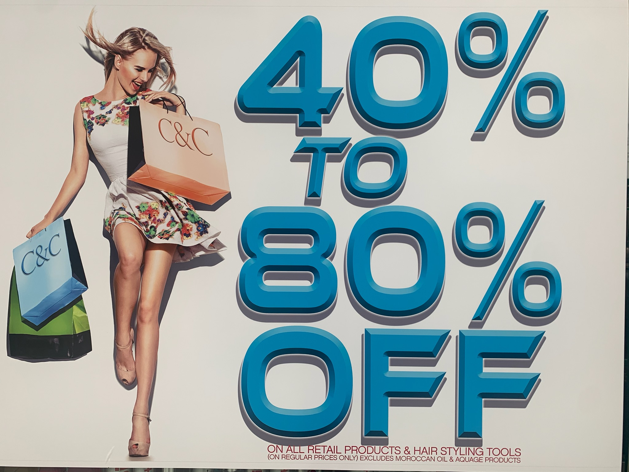 sale on retail products