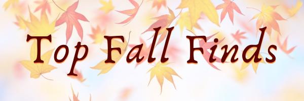 Fall Finds Header 1